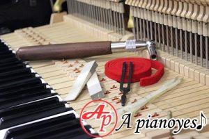 chỉnh dây đàn piano