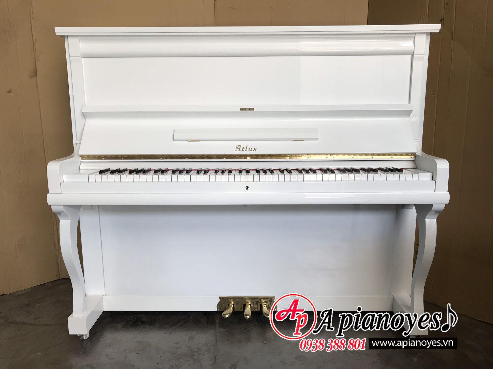 đàn piano trắng