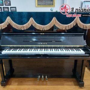khăn phủ đàn piano màu xanh lông công