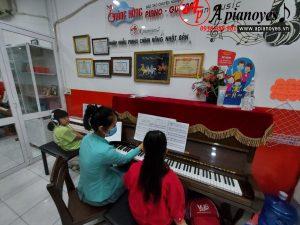 Hình ảnh dạy học tại cơ sở Gò Vấp