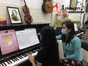 Một giờ học tại Apianoyes - Nắng Hồng Music
