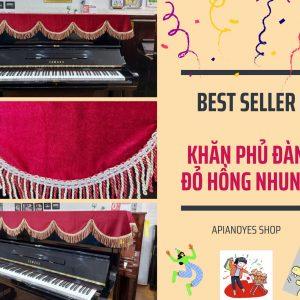 khăn phủ đàn piano